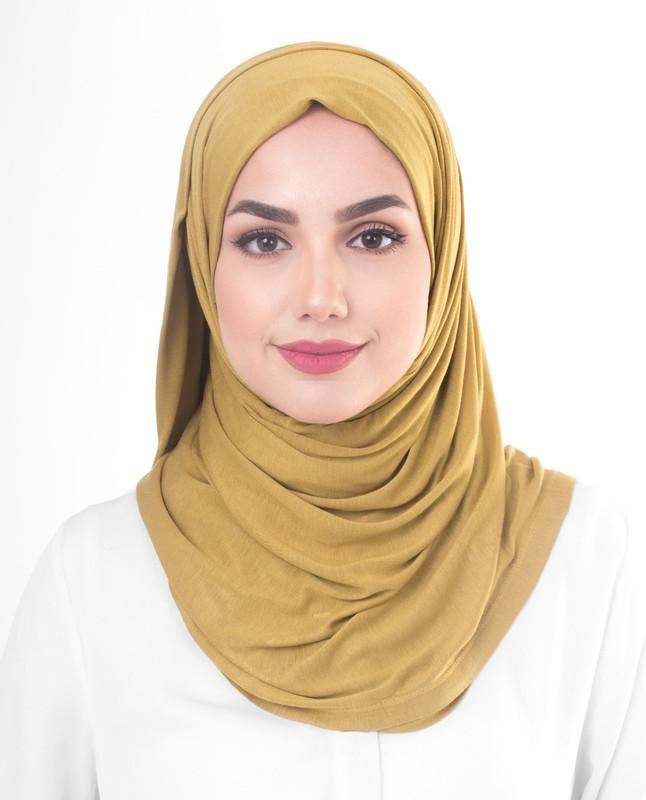 olive green hijab scarf