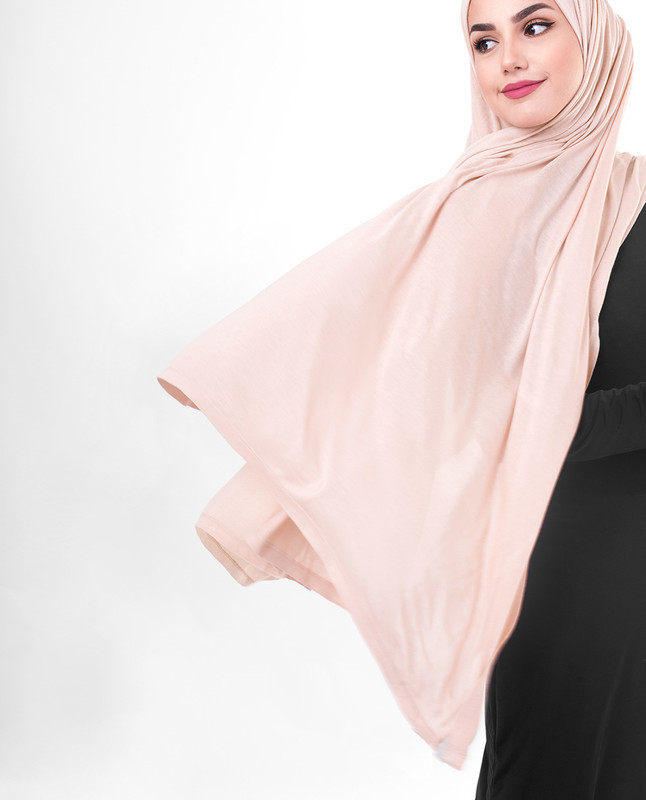 Pink hijab outfit scarf