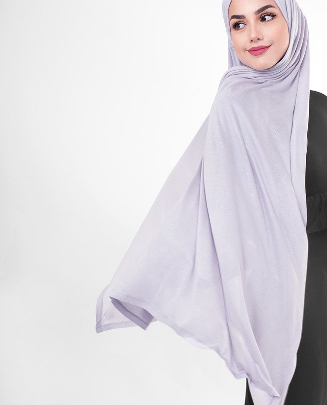 Dark purple scarf hijab