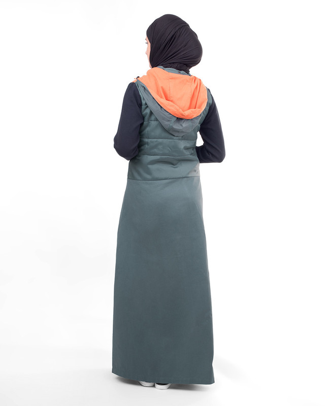 Winter fashionable abaya jilbab