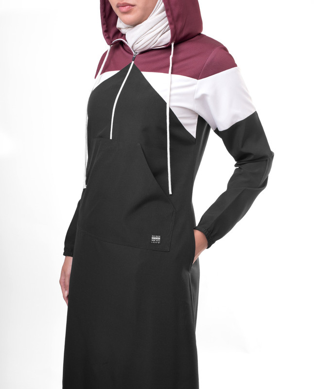 pockets sports jilbab abaya