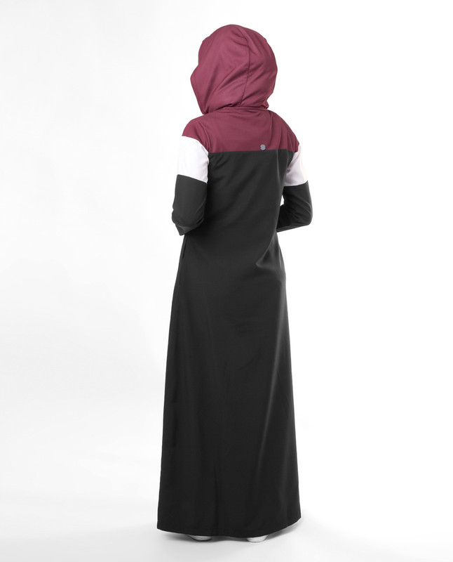 Travel wear abaya jilbab