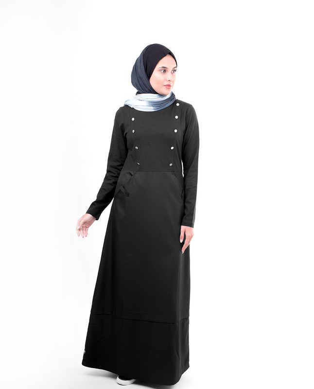 Evening wear abaya jilbab