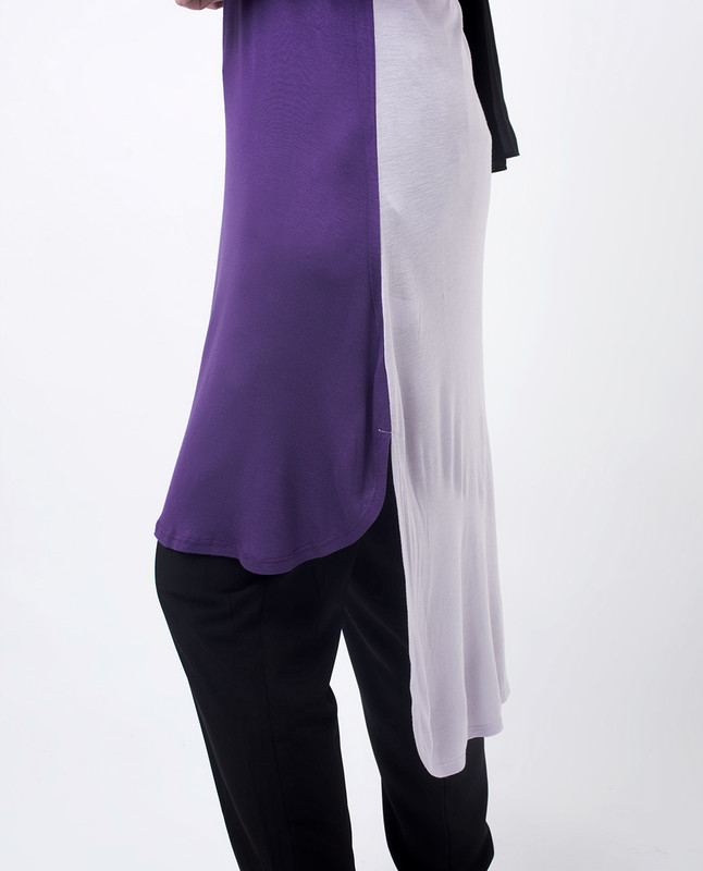 Longer Back Tunic Top