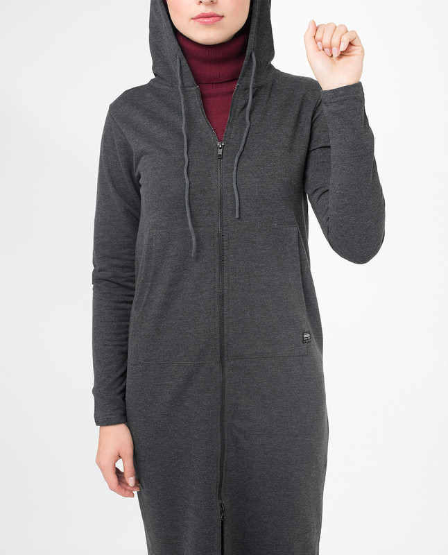 Hooded top for ladies
