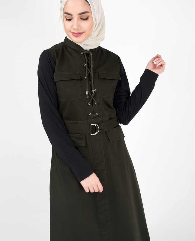 Olive Green Jilbab Abaya