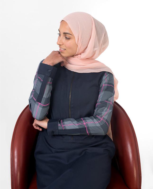 Buy blue abaya jilbab