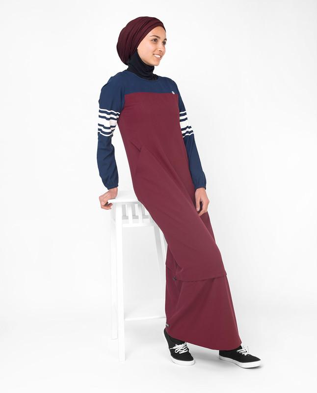 Buy maroon abaya jilbab