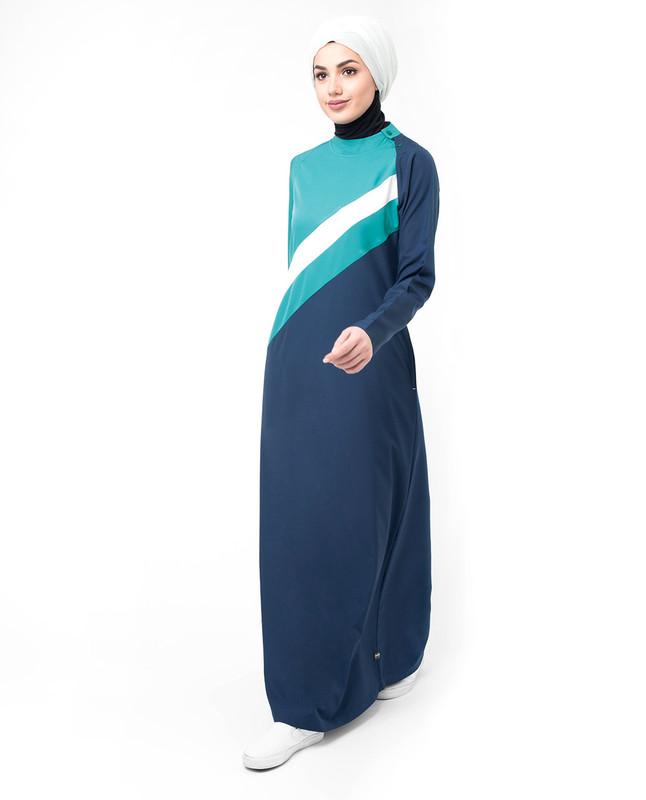 Buy navy blue abaya jilbab online