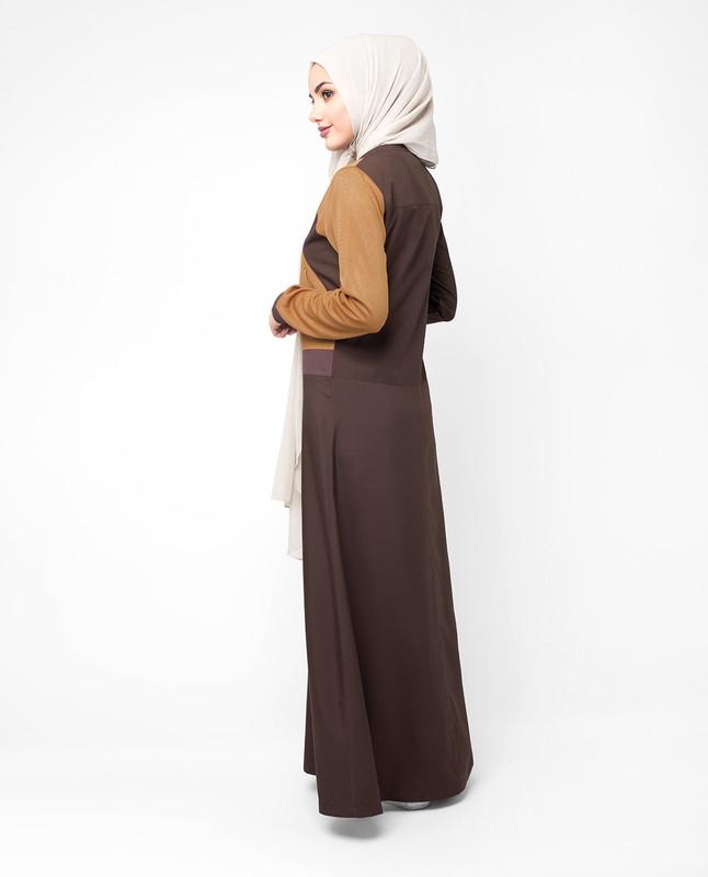 Casual abaya jilbab