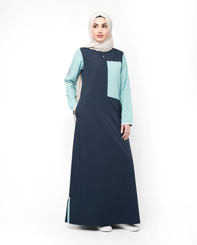 Casual sporty abaya jilbab
