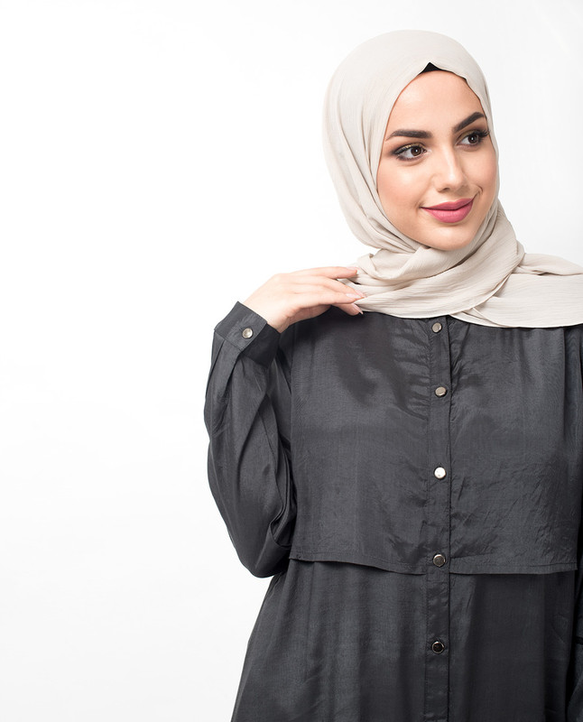 islamic tops midi dress for ladies