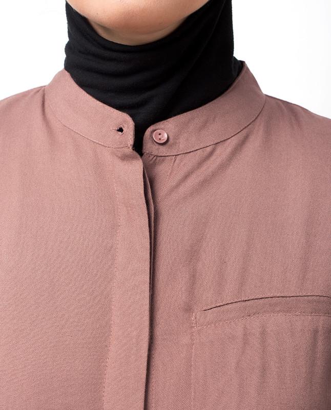 round neck abaya jilbab
