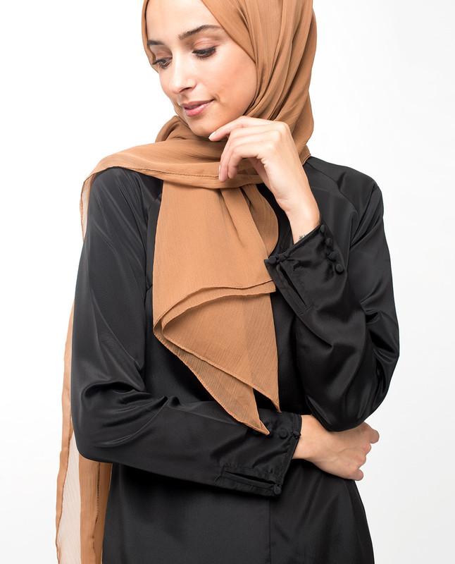 Lustrous High Low Black Midi Dress