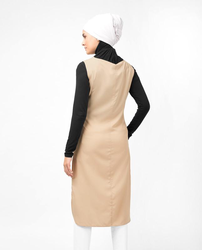 Beige Slip Dress