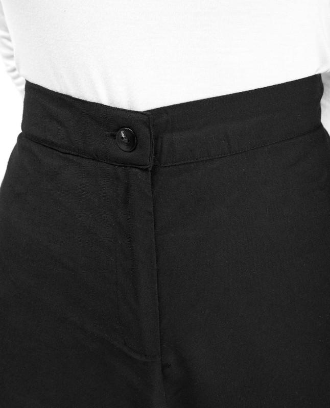 Gold Print Black Trouser