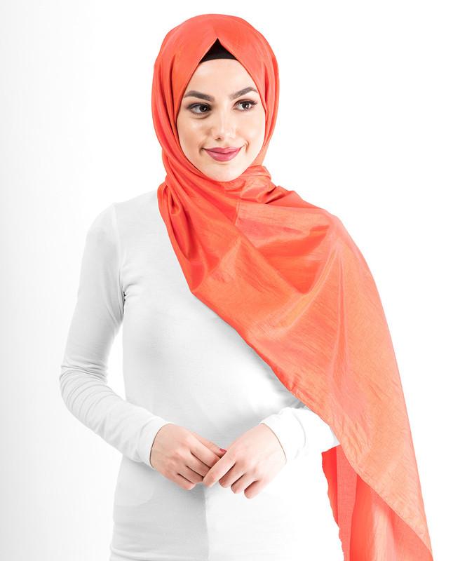 New Koi Shiny Silky Polyester Hijab