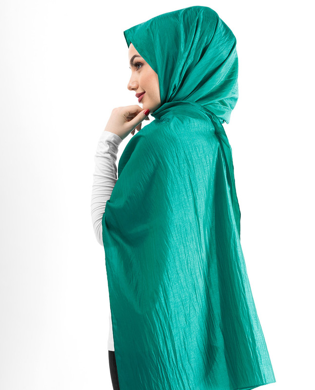 New Columbia Shiny Silky Polyester Hijab