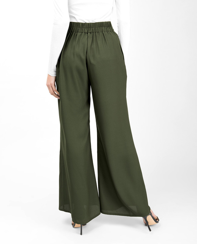 Cypress Flared Palazzo Trouser