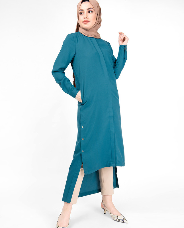 Corsair High Low Shirt Dress