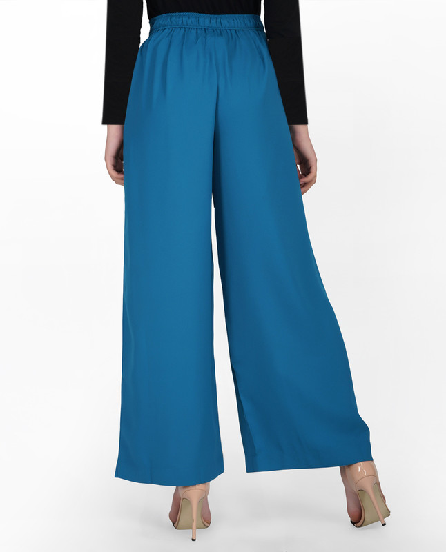 Corsair Blue Button Detail Trouser