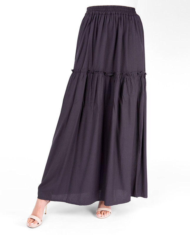 Nine Iron Ruffled Skirt