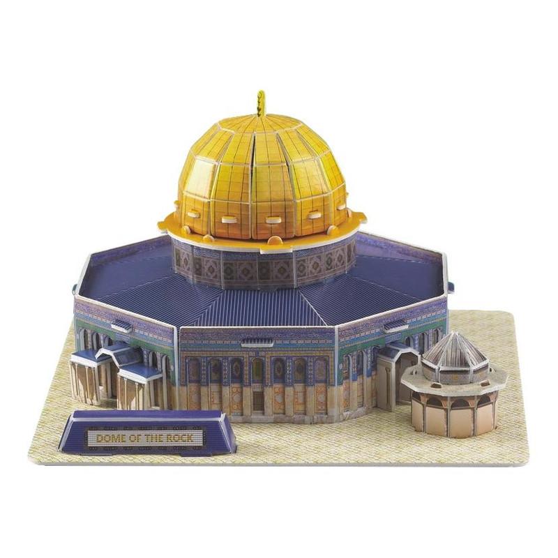Masjid Qubbat al-Sakhrah Dome of the Rock Mosque 3D Puzzle