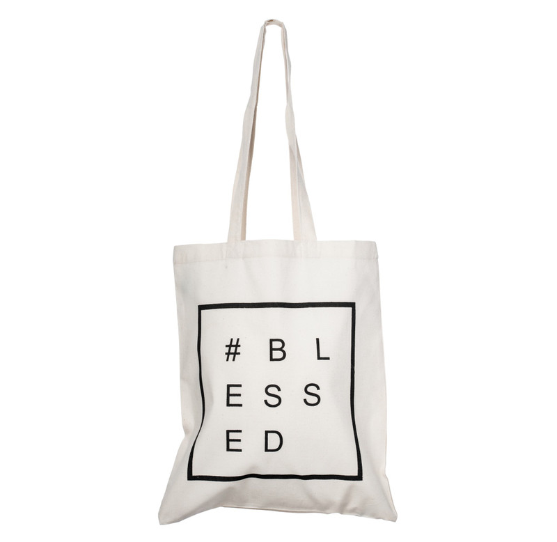CB02 - Tote Bag #BLESSED