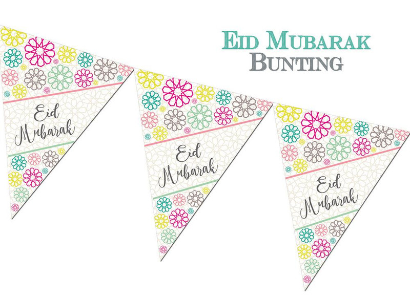 FEB05 - Eid Mubarak Bunting - Geo