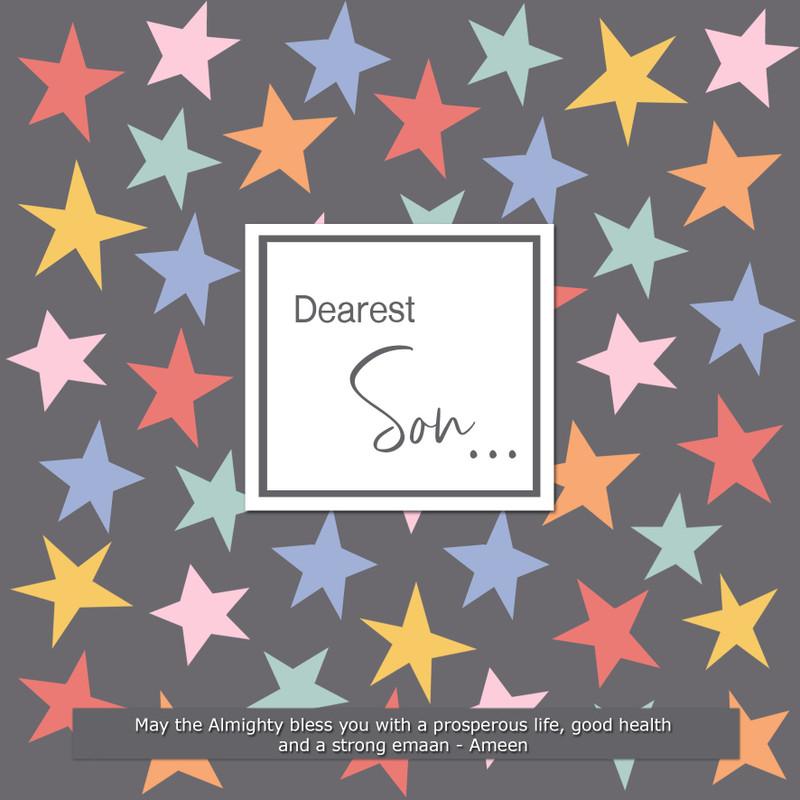 BJ16 - Son - Stars card