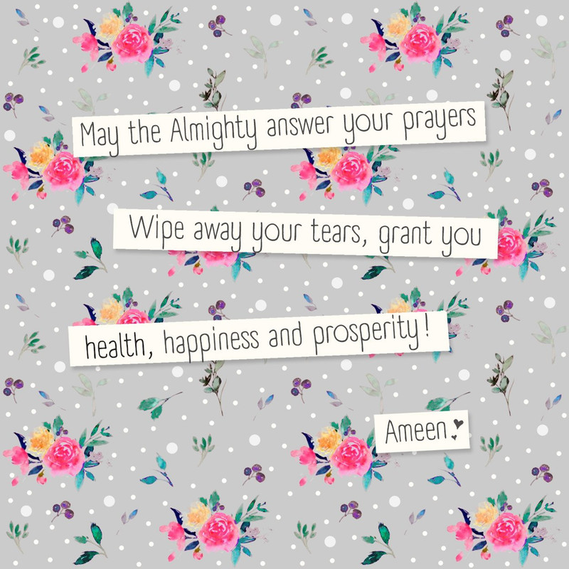 DU03 - May the Almighty answer your prayers...