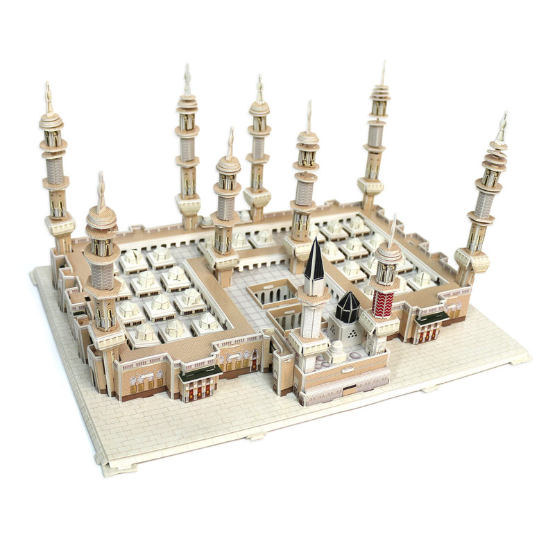Masjid al-Madinah an-Nabawi Mecca Mosque 3D Puzzle