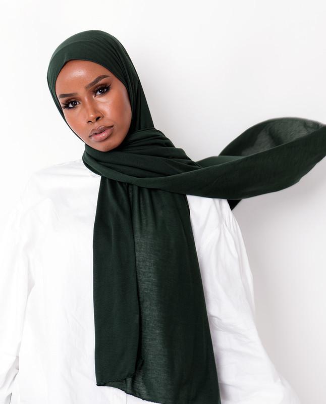 Khadija deejxlee green hijab