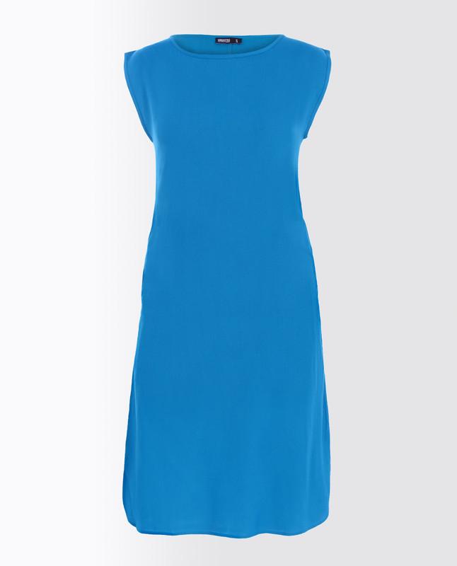 Swedish Blue Rayon Slip Dress