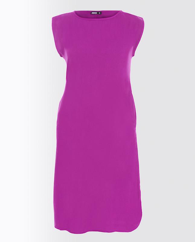 Plum Rayon Slip Dress