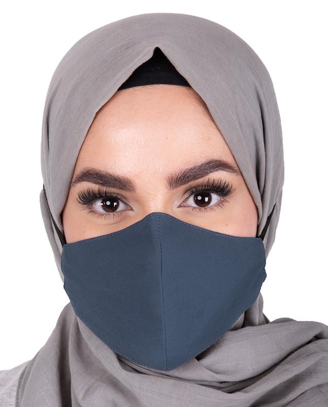 Blue Horizon Hijab Friendly Toggle Fabric Mask