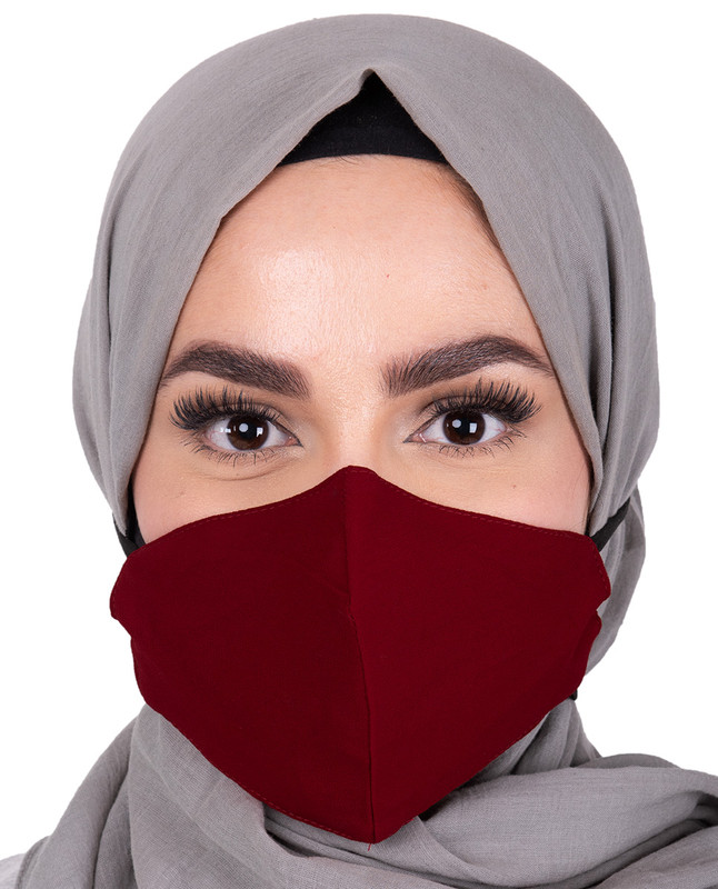 Chilli Pepper Hijab Friendly Toggle Fabric Mask