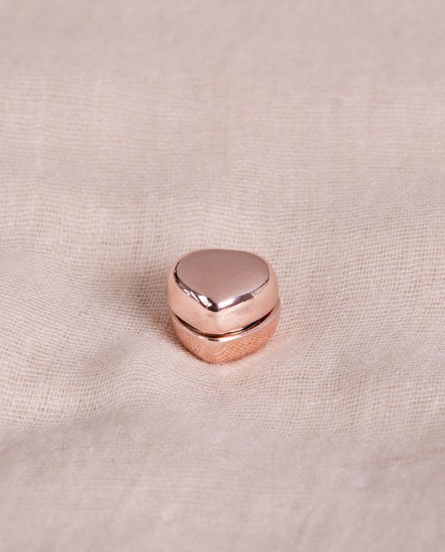 Pink Shine Heart Shaped Hijab Magnets