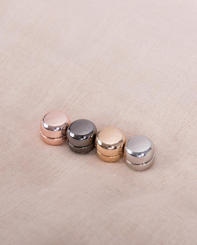 Shine Circle Shaped Hijab Magnets Pack