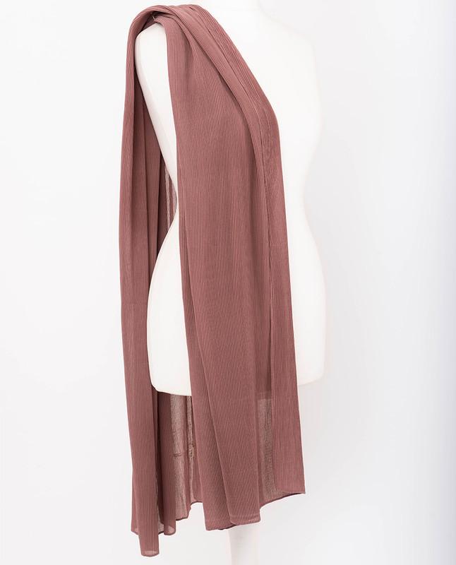 Cowhide Premium Pleated Chiffon Hijab