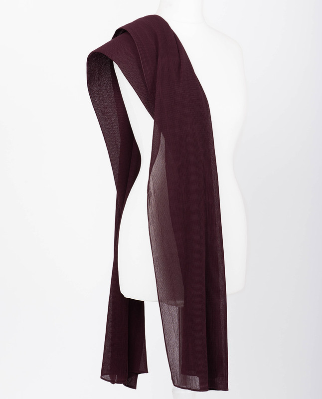 Zinfandel Premium Pleated Chiffon Hijab