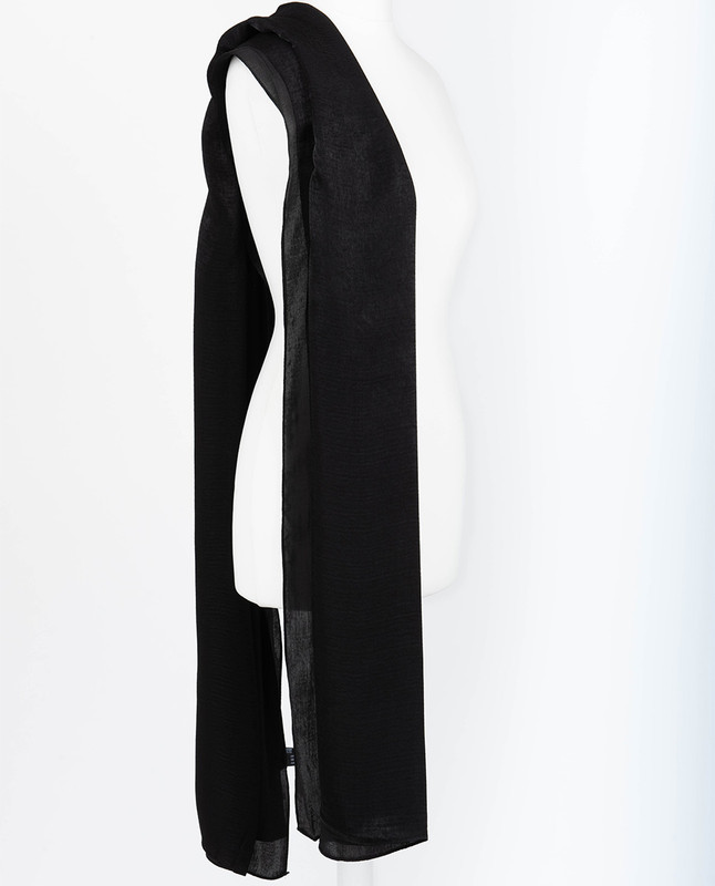 Jeb Black Premium Crushed Velvet Silk Maxi Hijab