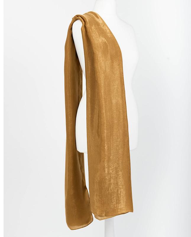Dark Cheddar Premium Crushed Velvet Silk Maxi Hijab