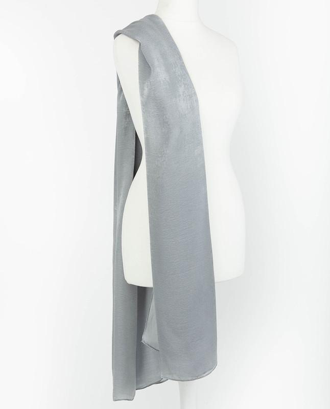 Harbor Mist Premium Crushed Velvet Silk Maxi Hijab