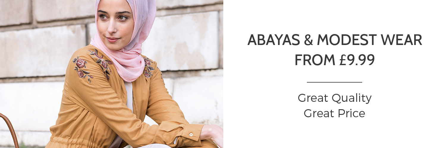 Abayas & Modest Wear From £9.99