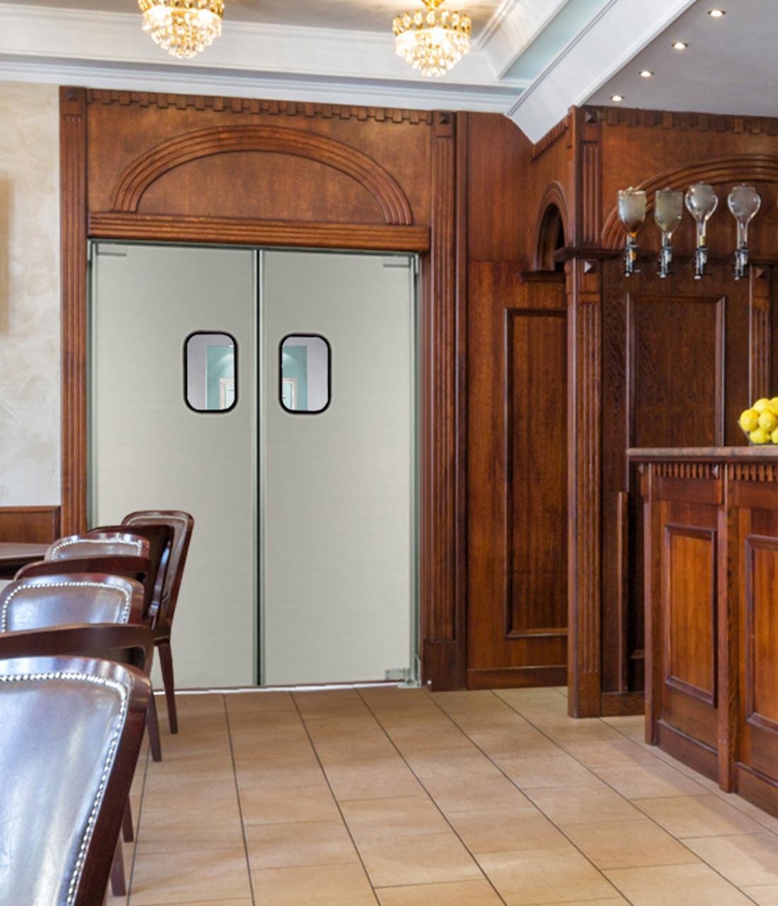 Lightweight Commercial Aluminum Swinging Kitchen Doors