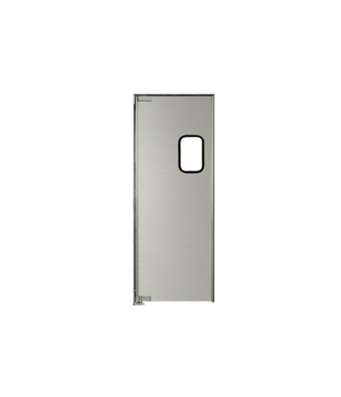 Aluminum Swinging Door: Single Panel, Left Side Hinge, 36 ...