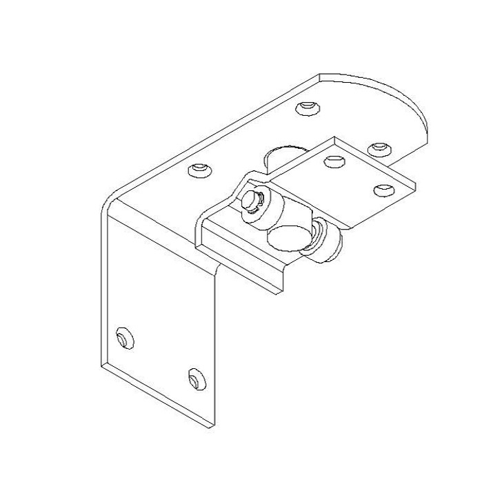Upper Hinge and Bearing Plate Assembly Kit WC