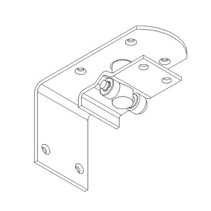 Upper Hinge and Bearing Plate Assembly Kit WF
