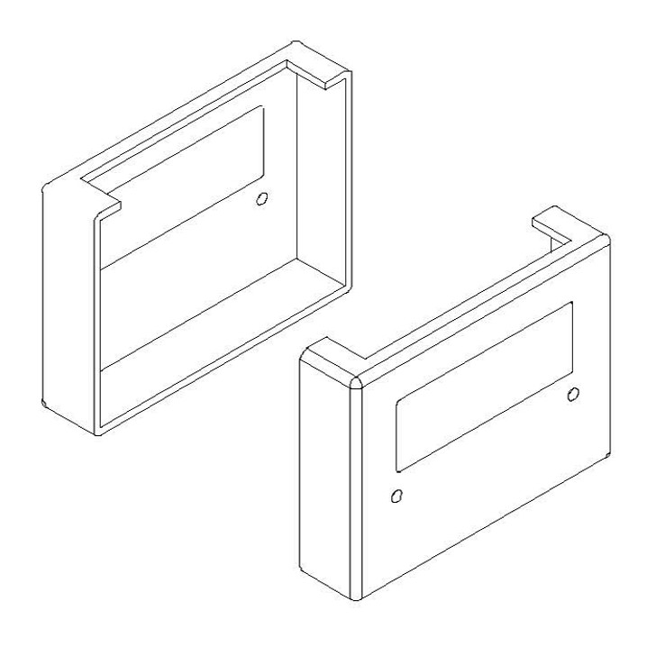Replacement Hinge Cover WF